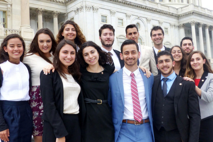 ANCA Leo Sarkisian Interns of 2017 at the Capitol Hill