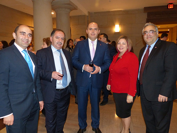 Rep. Linda Sanchez with Armenia Parliamentary Delegation